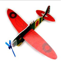 Rompecabezas Juguetes DIY Volar Planeador Plano Juguete Educativo Montado Aviones Modelo Larning Novedad Inteligencia Juguetes Juguetes Aeroplano Juguetes DHL desde planeadores de bricolaje fabricantes