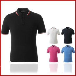 Wholesale New Men Polo shirt women T Shirts fashion Brand Design Country Race Fit Cotton Casual Polos High Quality Sports Shirts