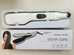 New Style Steam Hair Straightener Comb Irons Electric Hair Straightener Brush
