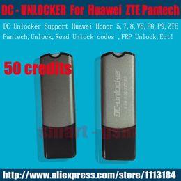 Wholesale original Dc Unlocker dongle DC UNLOCKER KEY Credits for Huawei ZTE Pantech Supper Honor V8 P8 P9