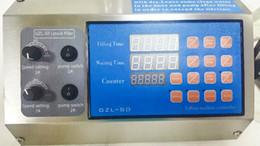 GZL-80 Sinparto water Filling Machine cooking oil filler Electric pump filling machine 0.5-4000ML each one nozzle per min 2018 GZL-80