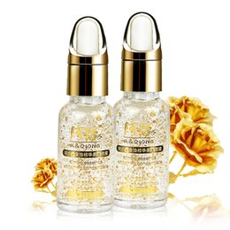 Wholesale 2017 k Pure Gold Foil Essence ml Moisturizing Anti Aging Remove Acne Anti redness Hyaluronic Acid Whitening Face Cream Serum XL M199