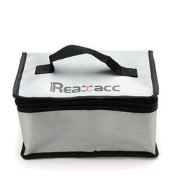 Sacs ignifuges à vendre-New Arrival Fireproof RC LiPo Battery Safety Bag Safe Guard Realacc Fire Retardant Lipo Battery Bag 220x155x115mm With Handle