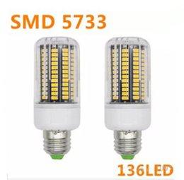 2017 ampoule g9 conduit NOUVEAU SMD 5733 E14 Lampada Lampe LED E27 110V Ampoule LED Ampoule E27 136LED Luz Bombillas Ampoule LED Spot Lamparas Spotlight LLFA ampoule g9 conduit sur la vente