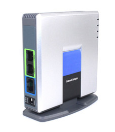 Wholesale UNLOCKED LINKSYS PAP2T NA SIP VOIP Phone Adapter Port D0252D