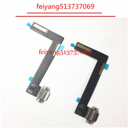 black white original Usb Plug Charge Board Replacement For Ipad air 2 Charging Port Connector Flex Cable