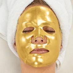 Wholesale Acid K Gold Bio Collagen Facial Mask Face Mask Crystal Gold Powder Collagen Facial Masks Moisturizing Anti aging Beauty Products