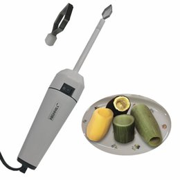Wholesale Easy Life Variable Speed Electric Power Zucchini cucumber eggplant potato turnip carrot drill veggie corer electric vegetable corer