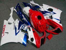 Cuerpo Kit Ajuste Para Honda azul blanco CBR 600 RR F2 91 92 93 94 CBR600RRF2 1991 1992 1993 1994 F2 91-94 Aftermarket ABS Carenado desde 91 carenados honda cbr fabricantes