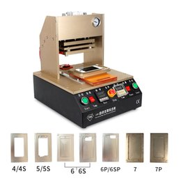 Wholesale TBK Automatic Frame Laminating Machine Built in air pump for iPhone s s s plus Middle Bezel Frame Laminator