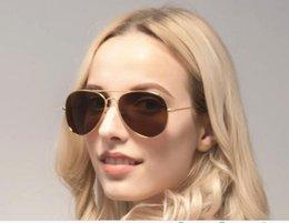 Vidrios del caminante en Línea-2017 WAYFARER gafas de sol para hombre marca mujer 3025 gafas de sol ban 58mm gafas de sol con gafas de sol originales