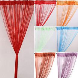 Оптово-Solid Color кисточкой Line занавес шнура двери Делитель элегантную панель экрана от Производители подкладке панель