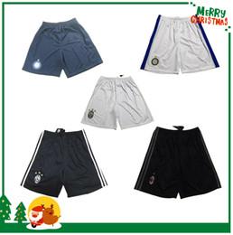 Wholesale 16 Serie A league shorts Roma Inter AC Milan Juve Home Away MARCHISIO MANDZUKIC BUFFON HIGUAIN shorts