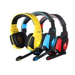 Chaque G4000 Low price Zero Profit pour casque stéréo de jeu d'ordinateur professionnel cf lol avec contrôle de volume de microphone basse de fasional à partir de jeu casque professionnel fabricateur