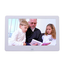 Wholesale Digital photo frame inch HD TFT LCD porta retrato electronic Alarm Clock MP3 Video Movie Player elektronischer bilderrahmen