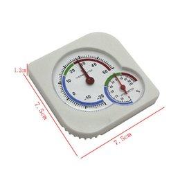 Wholesale Indoor Mini Hanging Desktop Temperature Meter Thermometer Analog Wet Hygrometer