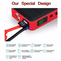 New Arrive 26000mAh Car Jump Starter Mini Portable Emergency Battery Charger for Petrol Diesel Car 12V Multi-function Power Bank