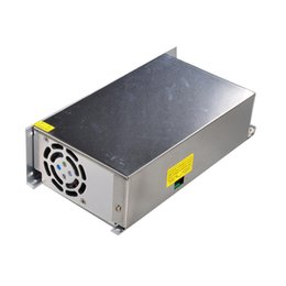 Wholesale 12V A W Switching Power Supply Driver for LED Strip with Cooling Fan ON OFF Auto Control