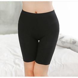 Polainas de la falda caliente en Línea-Venta al por mayor - Hot Salel señoras rodilla-longitud corto leggings debajo de las faldas, cómoda ropa interior de bambú ligero para el verano 3 tamaños