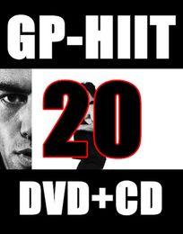 Wholesale Top sale April Q2 New Routine GP PL HIIT Minutes Exercise Fitness Videos GP20 PL20 DVD video CD music