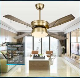 Simple mode LED DC onduleur plafond lustre ventilateur lumière télécommande restaurant silencieux ventilateur lumières plafond lustre ventilateur dc led ceiling light on sale à partir de dc a mené la lumière au plafond fournisseurs