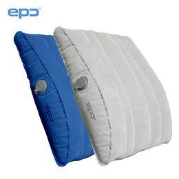Promotion oreillers de soutien lombaire En gros-Epc coussin gonflable coussin de soutien de la taille kaozhen oreiller extérieur voyage de voiture lombaire auto-conduisant le tapis de camping de voyage