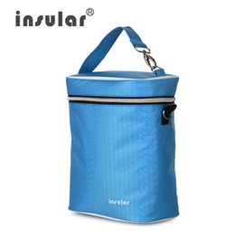 Thermal Insulation Feeding Bottle Bag Waterproof Nylon Portable Bottle Bag