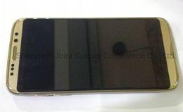 Goofón S8 pantalla de 5,5 pulgadas curvada MTK6580 Quad Core HD 1280 * 720 mostrar falso 4G LTE 1G 8G Android 6.0 cuerpo de teléfono celular teléfono inteligente desde hd militar proveedores