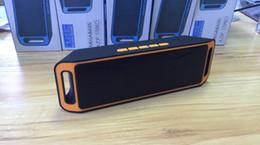 Promotion boîte de haut-parleur de radio Haut-parleur HIFI Bluetooth avec écran SC208 Sardine Radio FM sans fil USb fort Amplificateur stéréo Sound Box DHL livraison gratuite MIS065