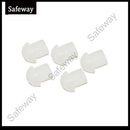 Wholesale 10pcs walkie talkie mushroom silicone Ear bud for two way radio acoustic tube earphone air tube earpiece replacement
