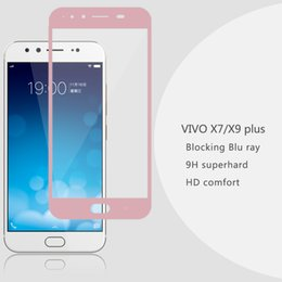vivo x7 x9 Tempered Glass Protective Film Premium screen Protector film Mobile phone 9H 2.5D Toughened Membrane For