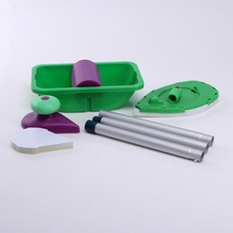 Wholesale Paint Roller and Tray Set Painting Brush Point N Paint Household Decorative Tool Easy to Use with Retail Box Package ELH010