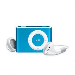 Promotion mp3 mémoire lecteur 1gb Vente en gros - 3.5mm mini clip portable mobile sans écran Lecteur MP3 sans carte mémoire avec lecteur de musique TF slot