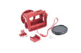 Wholesale New Product Camera Accessorie Aluminium Alloy Gopro Housing Case with Rear cover for Go pro
