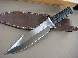 Classic Strider Mick Survival Straight knife 8Cr13 Satin Blade Micarta Handle outdoor survival Rescue Fixed Blade knives