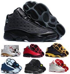 Top Retro 13 Basketball Shoes Dmp Men Women Black Cat Air Retros 13s Xiii Low Men's Women's Sport Femme China Sneakers Shoes Sale