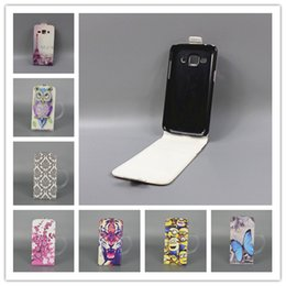 Wholesale For Samsung Galaxy Star Advance G350e SM G350E Galaxy Star Plus Hot Pattern Cute PrintingVertical FlipCover Open Down up Cover
