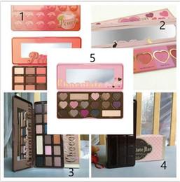Wholesale Makeup Chocolate Bar Eyeshadow palette semi sweet bonbons sweet peach Color Eye Shadow palette