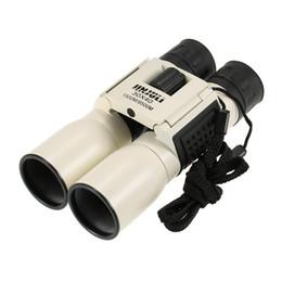 Descuento hd militar Binoculares Telescopio 30x40 Caza al Aire Libre Militar Grado Estándar Binoculares de Alta Potencia Anti-niebla HD Gafas