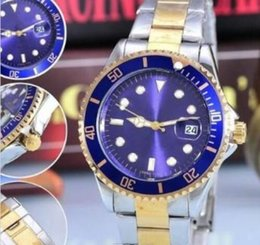 Wholesale HOT new Role of luxury brand automatic Blue dial Shi Yingnan table water ghost series diving submarine Business watches gife box