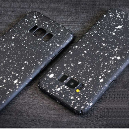 100 pcs Wholesale New Style Phone Case for Samsung S8 s8 Plus Glitter Hard PC Phone Cover for Samsung S8 Dirt Proof Phone Shell