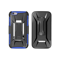 Wholesale best X Shape Shockproof Hybrid Rugged Defender Armor Case Kickstand Swivel Belt Clip Holster Cover for iphone Samsung LG Huawei ipad cases