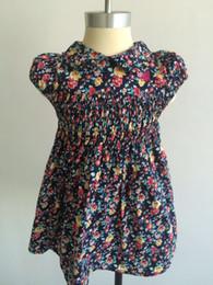 CURRON 2017 new dark flower bud flower skirt princess skirt 2-6 year old little girl dress 3