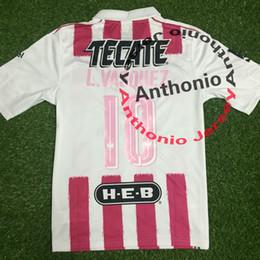 Camisetas de fútbol de color rosa en Línea-Camiseta de fútbol MONTERREY UANL PINK camisetas futbol camisa de futebol maillot de foot survetement fútbol kit uniforme football shirt