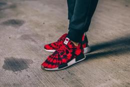 Wholesale 2017 de calidad superior NMD Runner R1 Primeknit Blanco OG Negro Niza Nike Kicks Hombre zapatos de las mujeres Zapatillas Originales Classic Zapatos Casual DHL Ship
