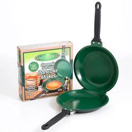 Wholesale Flip Jack Pan Ceramic Pancake Maker Cake Pot Egg Cauldron Kitchen Holloware Mexico Angel Cakes Machine Hot Sale qw