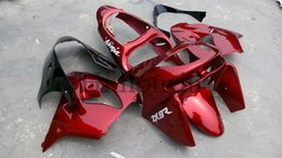 Wholesale Aftermarket ABS Fairing For Kawasaki ZX R ZX9R red Motorcycle Body Kit