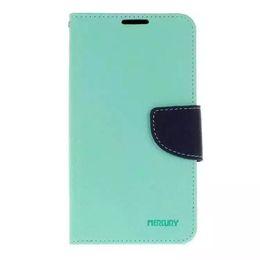 Pour iphone 4 4s 5 5s 5s 6 6s 6 plus 7 7 plus galaxie s4 s5 s6 s6 bord s7 Mercury Fancy Diary Portefeuille Stand Étui en cuir COUVERT 100pcs Simple op à partir de mercure cas s4 fabricateur