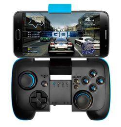Pc joystick en Línea-Nuevo juego de mando inalámbrico de joystick de controlador de juegos de Bluetooth + soporte Gamepad para Android / Ios / Tablet PC / TV Box
