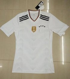 Wholesale _ Confederations Cup soccer jerseys GERMANY Deutsche home top thai custom soccer uniforms football jersey player version